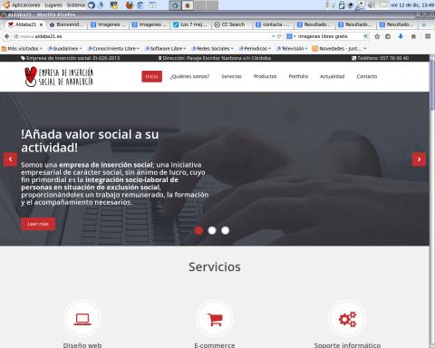 nueva web de Aldaba 21